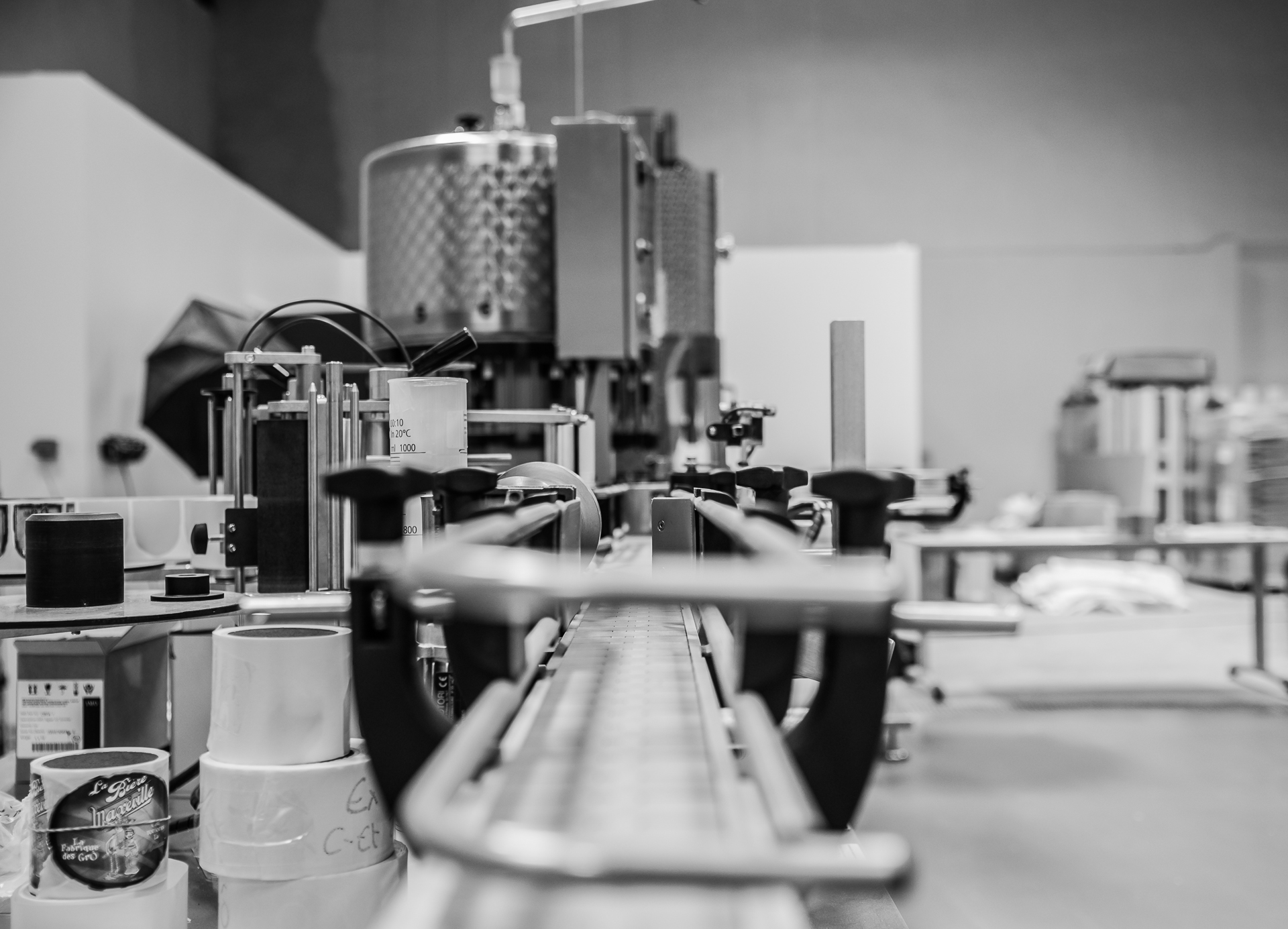 Brasserie La Fabrique des GrÔ - bières artisanales - Étiqueteuse/enbouteilleuse/encapsuleuse/p... et café